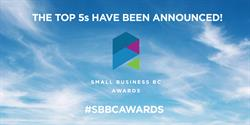 We're proud to announce this year's Small Business BC Awards Top 5 Finalists chosen from 699 nominees across 72 communities in BC!