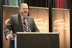 """Gay Lea Foods President & CEO, Michael Barrett, called 2016 a """"banner year"""" for the Co-operative."""