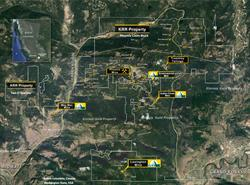 Golden Dawn Area Property Map