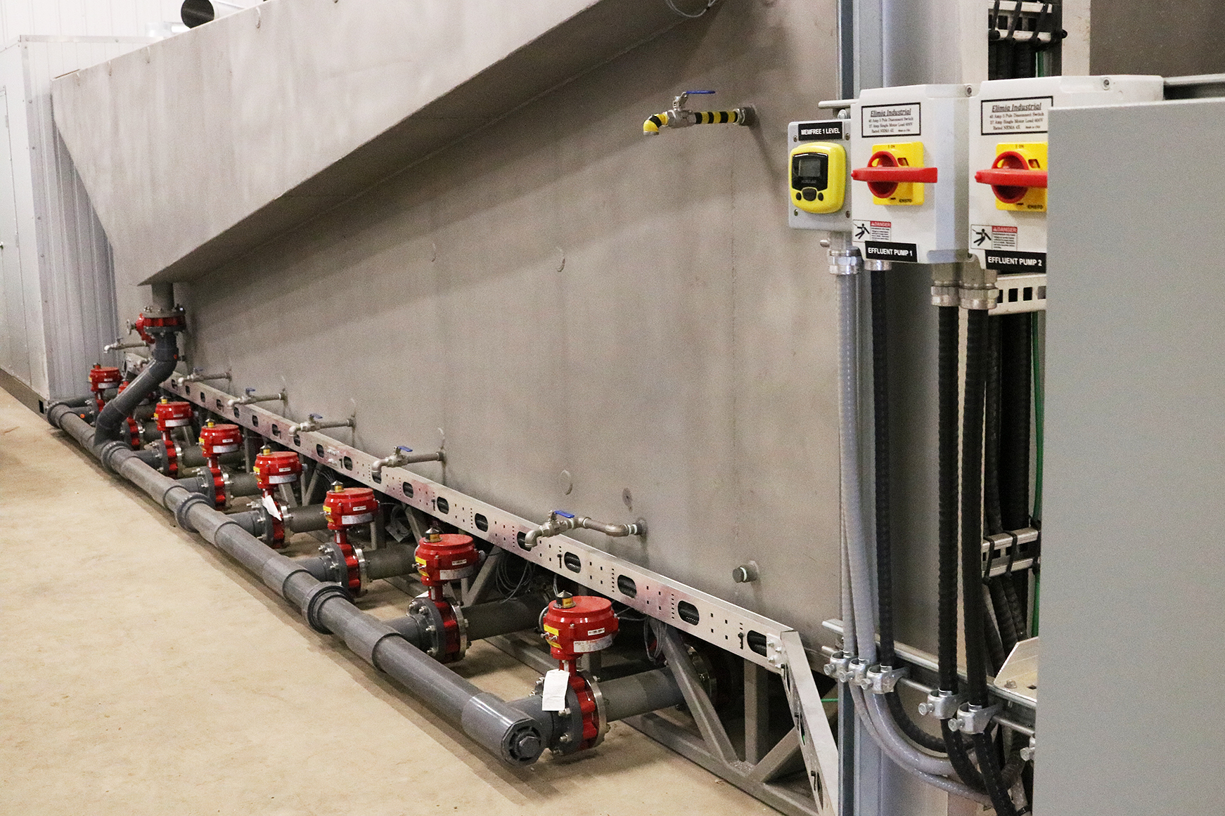 Tecvalco manufactured this MemFree wastewater system