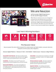 We are NeuLion