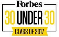 This is an image of the 30 Under 30 logo.