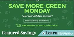 B&H Green Monday