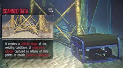SeaVision generates high resolution 3D imagery for predictive analytics. Source: Kraken Robotics Inc.