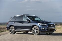 The INFINITI QX60 7-passenger premium crossover, with sales of 3,879 (up 24 percent), had a record September.