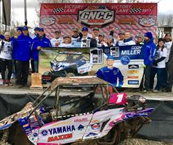 Yamaha Racing's Cody Miller GNCC XC1 Pro UTV Champion