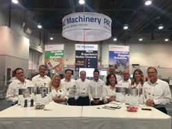 PAC Machinery staff at PACK EXPO Las Vegas, 2017