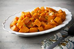 Click for Orange Candied Sweet Potatoes Recipe
