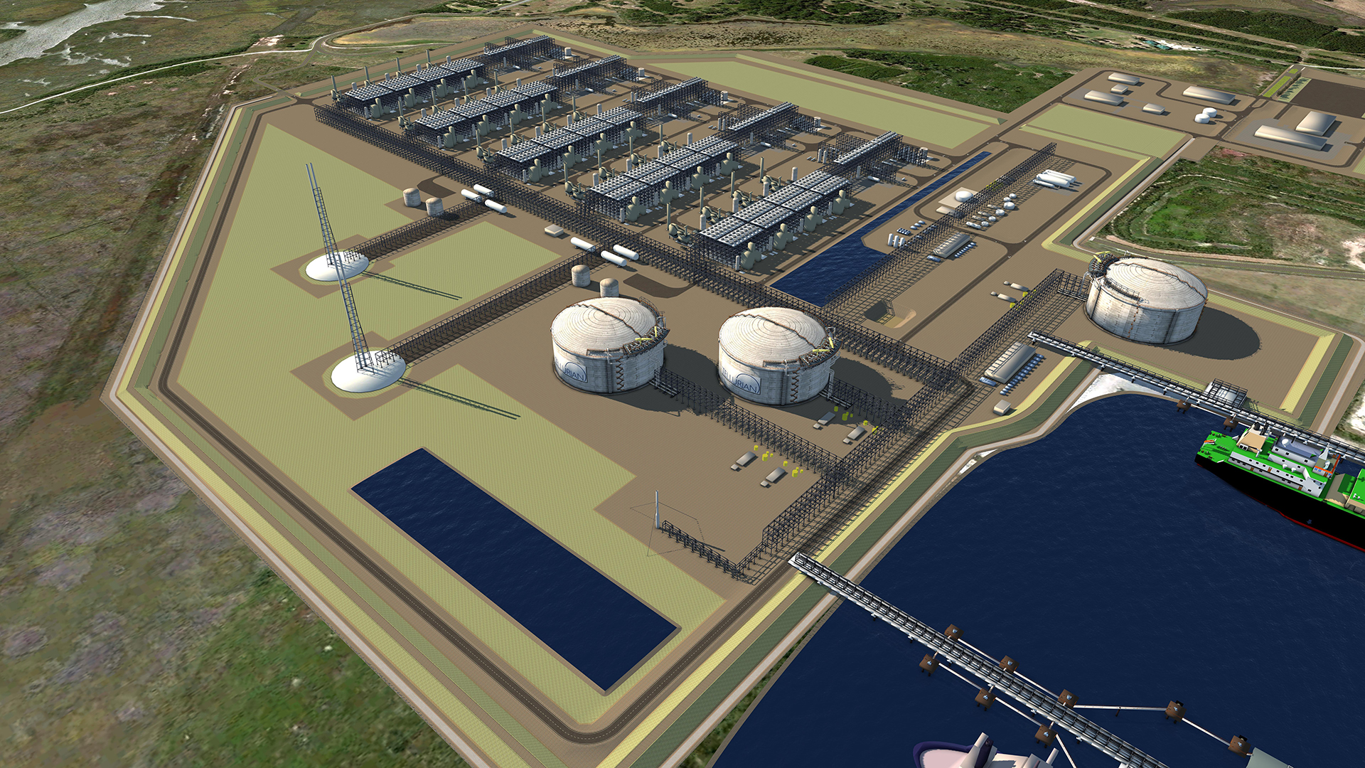 Tellurian Signs Agreements With Bechtel To Deliver Driftwood Lng At