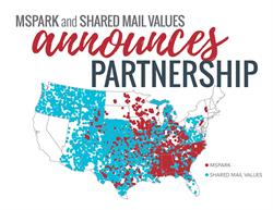 Mspark & Shared Mail Values Announce Partnership