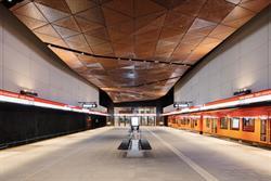 Aalto University station. Photo: Tuomas Uusheimo/ALA Architects