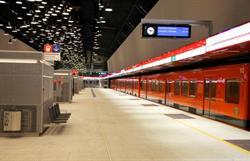 Lauttasaari station. Photo: Timo Ojala/Länsimetro