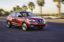The all-new 2018 Nissan Kicks, the newest entry in the fast-growing affordable compact crossover market, made its North American debut today at the Los Angeles Auto Show.