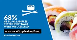 68% of sushi samples tested in Ottawa were mislabelled