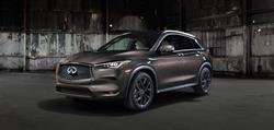 The all-new INFINITI QX50 is a premium mid-size SUV with world-first technologies, stand-out design and class-leading interior space - all on an entirely new platform. The QX50 also features a VC-Turbo engine, the world's first production-ready variable compression ratio engine, which delivers driving pleasure and efficiency in equal measure, transforming on demand.
