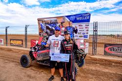 Corry Weller wins the LORORS Arizona Championship at bLU cRU championship bonus