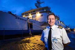Mercy Ships Canada Captain Mark Carew