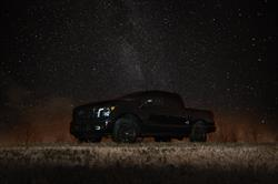 Darkness falls in all the right places on the 2018 Nissan TITAN Midnight Edition, just in time for the darkest day of the year -- the 2017 Winter Solstice.