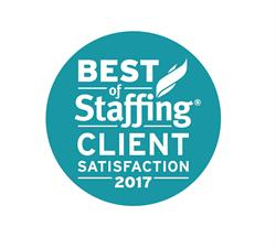 Staffing 360 Solutions Division, Monroe Staffing, Wins Inavero's 2017 Best of Staffing Client Award