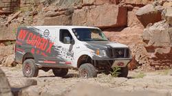 Nissan NV Cargo X project van