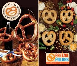 Brauhaus Pretzel, Pretzel Fillers, J&J Snack Foods, Soft Pretzel