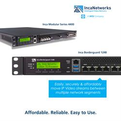 Easily, securely and affordably move IP streams between multiple network segments.