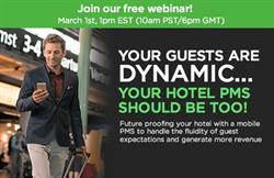 StayNTouch to Host Live Webinar on the Importance of Leveraging Latest Technology to Future Proof Your Hotel