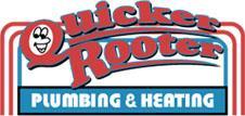 Calgary plumbers Quicker Rooter plumbing logo