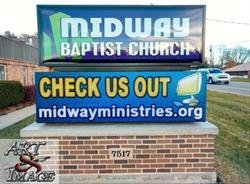 Baptist Church LED Sign
