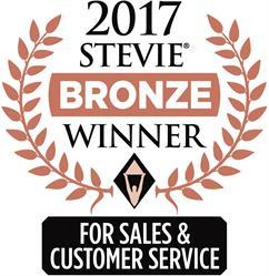 2017 Stevie Bronze Award