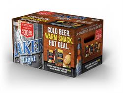 Laker Beer Partners with McCain Foods