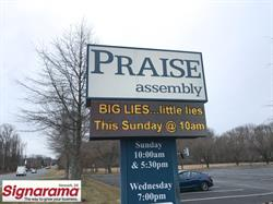Church LED Sign