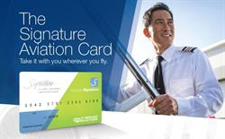 the all new Signature Flight Support Aviation Card backed by the power of EPIC Fuels