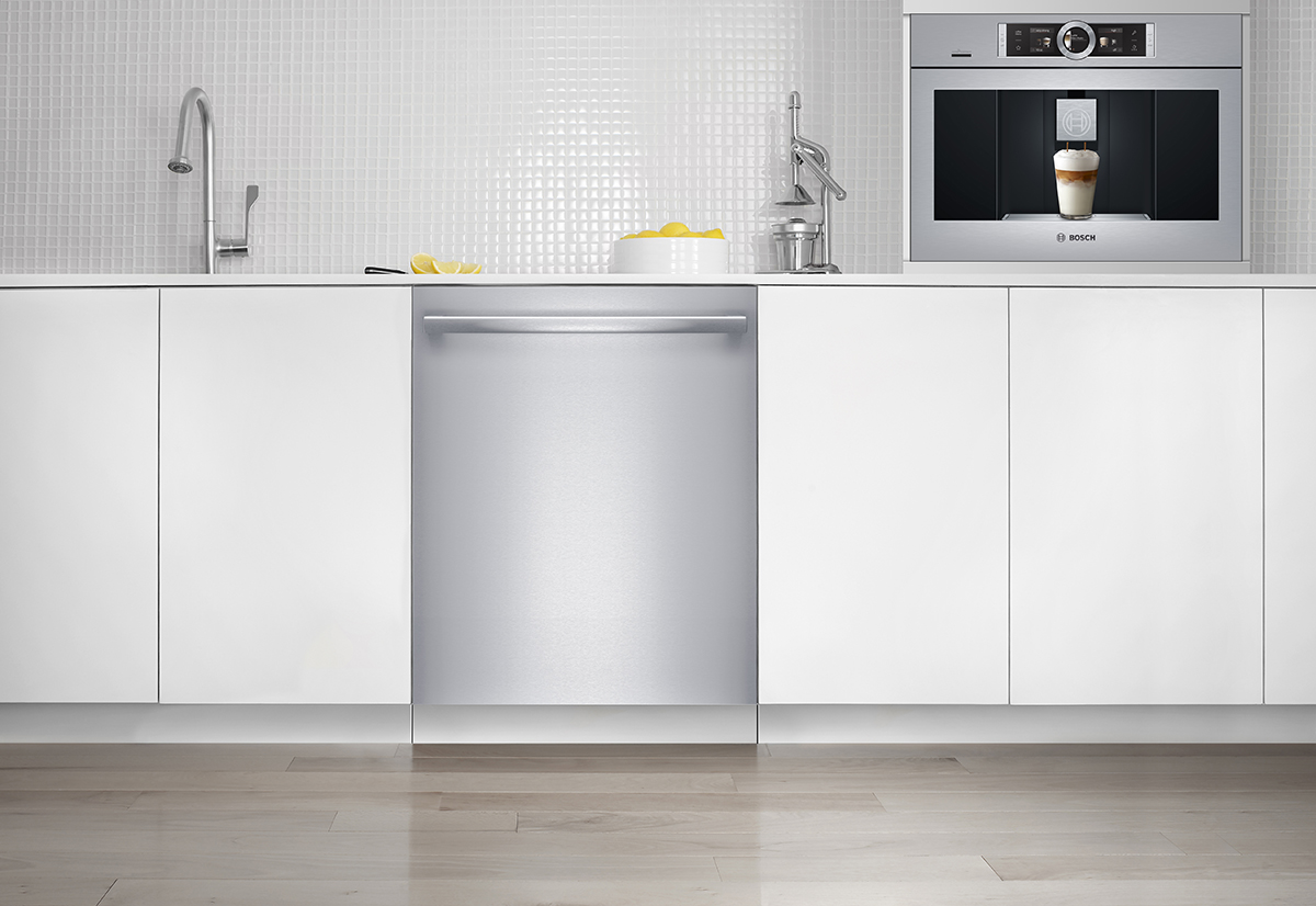 bosch home appliances re imagines kitchen cleanup with new dishwasher line. Black Bedroom Furniture Sets. Home Design Ideas