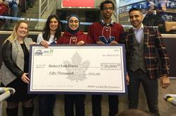 MLSE Foundation awards Hockey 4 Youth as this year's recipient of the Toronto Maple Leafs Community Action Grant presented by the Just Energy Foundation