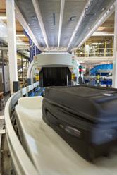 Morpho Detection's CTX 9800 screens up to 1,800 bags per hour.
