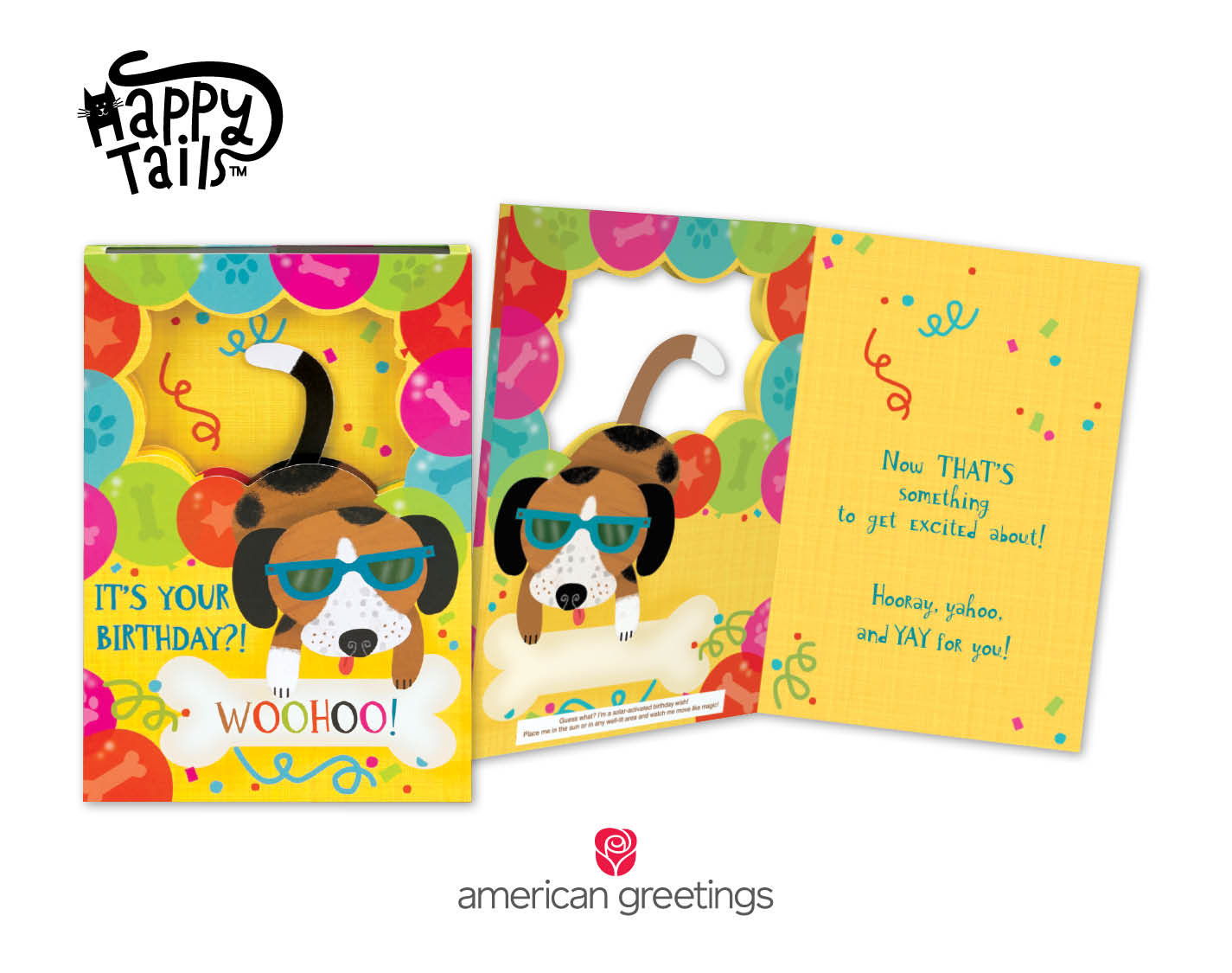 New Happy TailsTM Birthday Cards from American Greetings Feature – Yahoo Greeting Cards Birthday