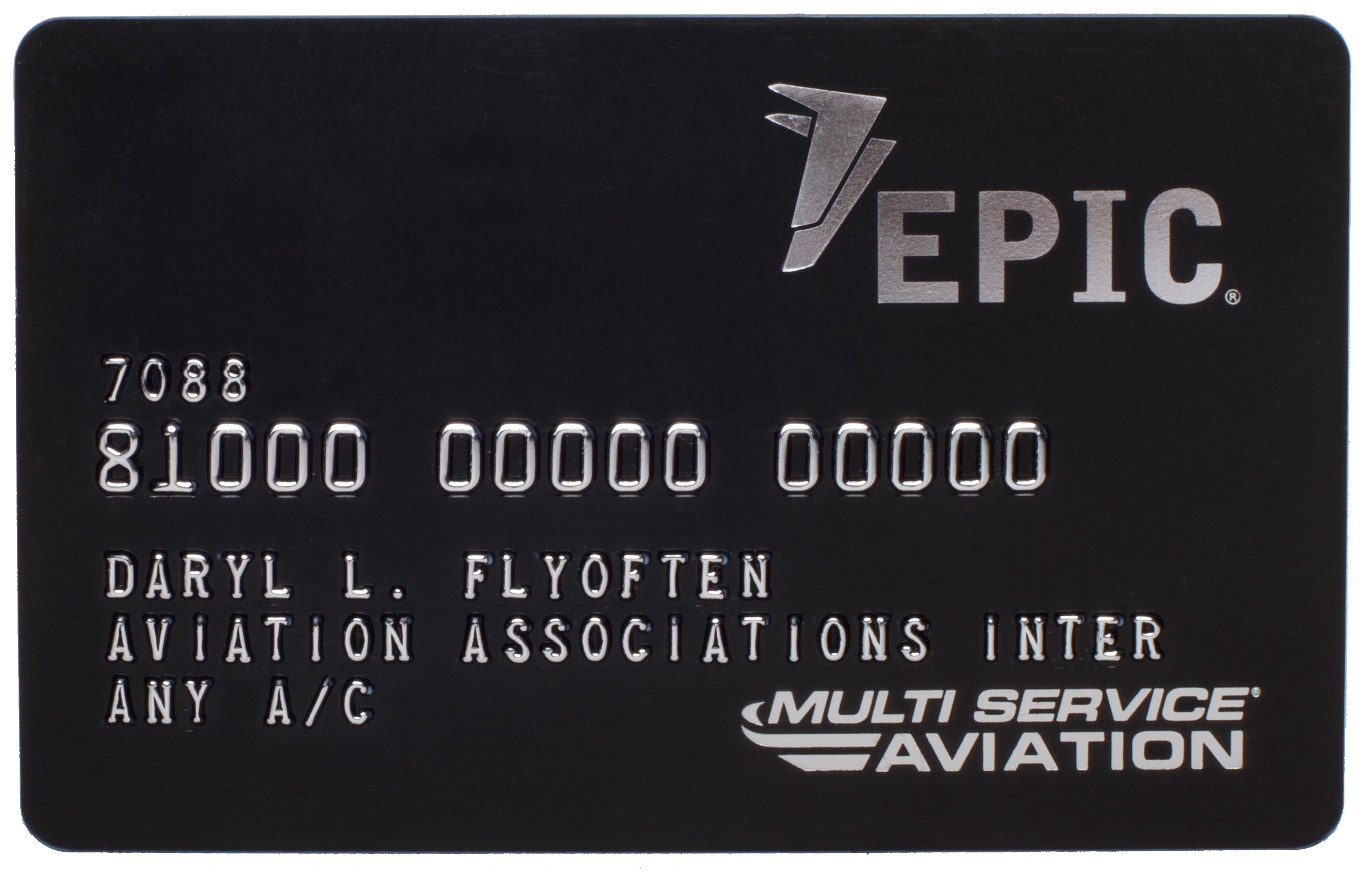 EPIC Card - accepted at thousands of locations worldwide