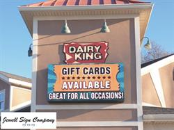 Dairy King LED Sign