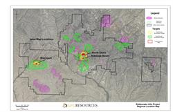 Regional map of the Rattlesnake Hills Gold Project
