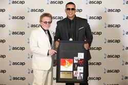 ASCAP President Paul Williams and Daddy Yankee