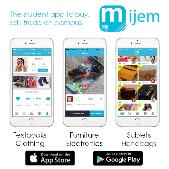 Mijem Launches the App for Students to Buy, Sell, Trade on ...