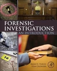 Elsevier, books, information analytics, forensic investigation, criminal justice, crime scene