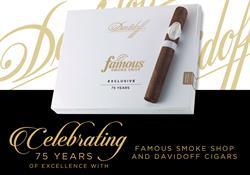 Davidoff Famous 75th
