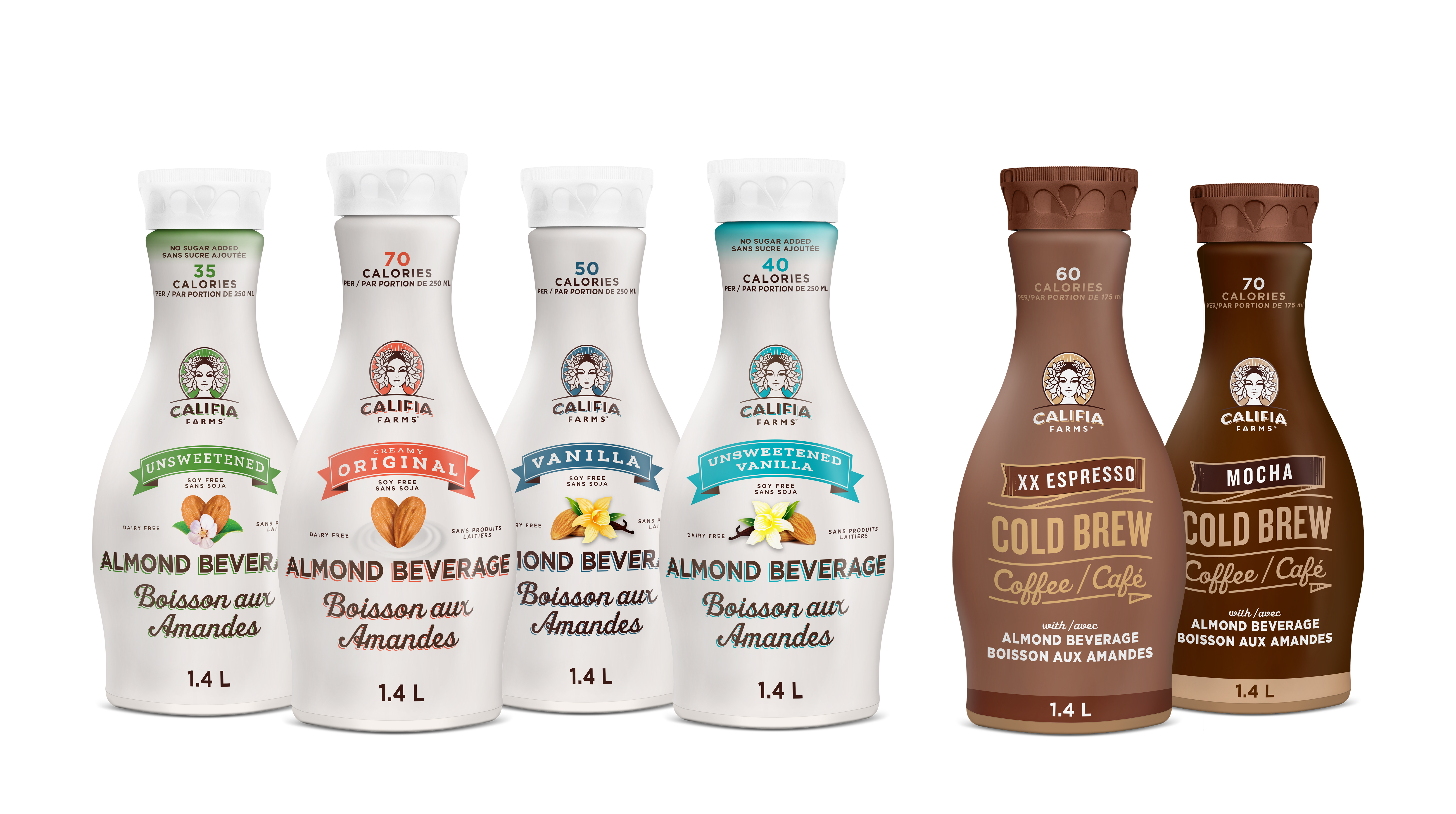 Califia Farms Brings Top Selling Almond Beverages And Cold Brew Coffees To Canadian Market