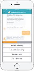 Chatbot für Mitarbeiterumfragen