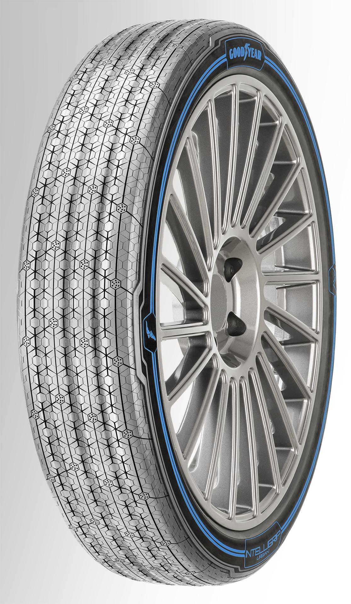 goodyear pr sente le concept pneu intelligrip urban un pneu intelligent pour les flottes. Black Bedroom Furniture Sets. Home Design Ideas