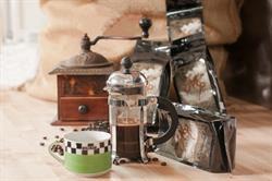 Molinari's Wine-Infused Coffee.  Photo Credit: Nicole Marino / BigShot Photography