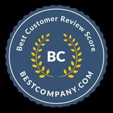 "MobileHelp® Honored to Receive ""Best Overall Consumer Score"" Award from Best Company Review Site"