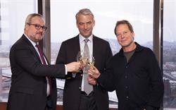 Richard Moreau, Gilles de Larouziere, Mike Etzel. Photo credit: Doreen L Wynja